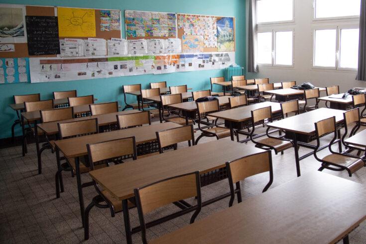 Empty School During Coronavirus Crisis - Paris