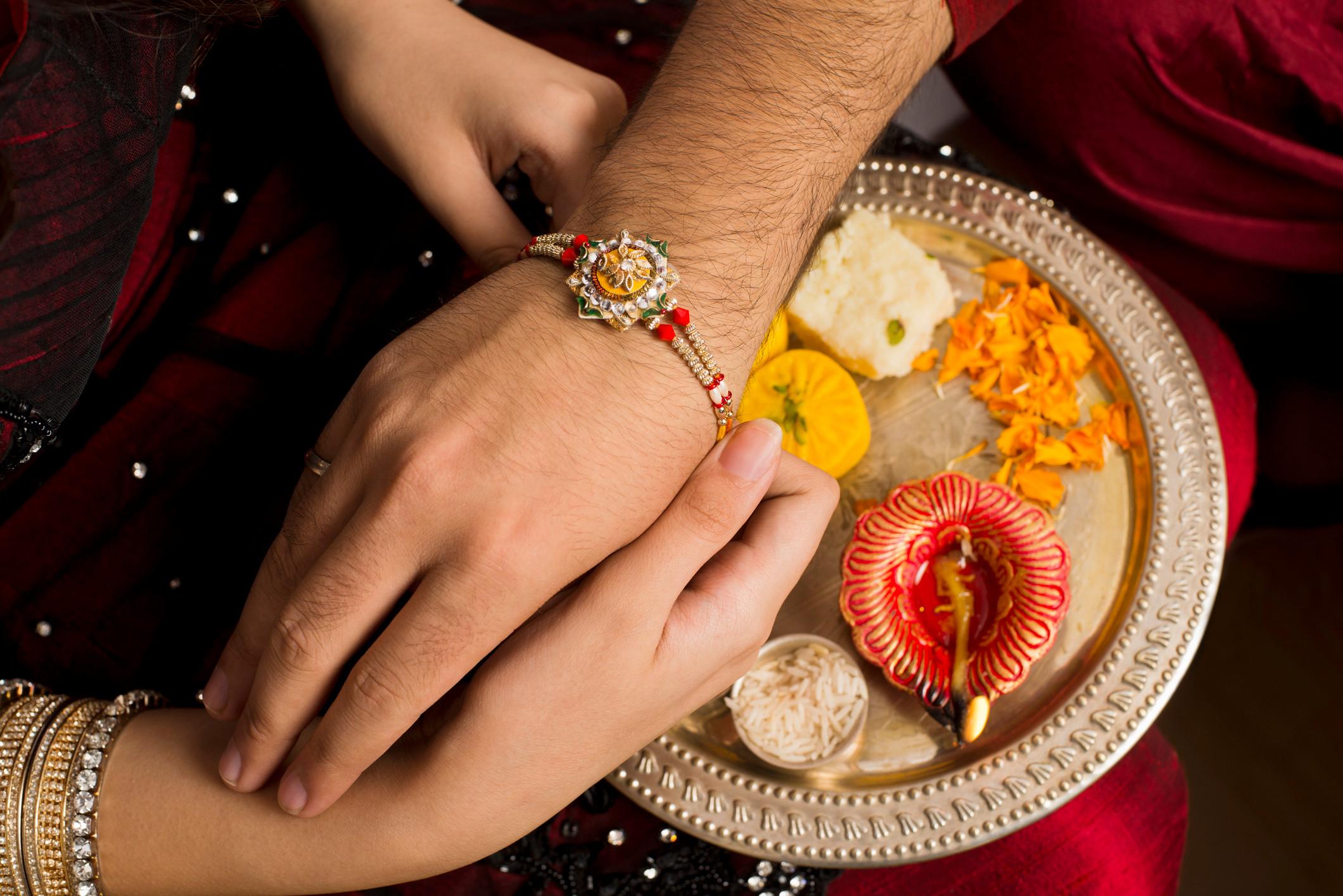 RAKSHA BANDHAN IS A HINDU FESTIVAL